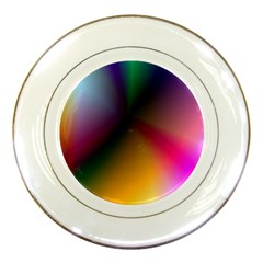 Prism Rainbow Porcelain Display Plate by StuffOrSomething