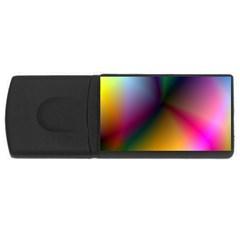 Prism Rainbow 4gb Usb Flash Drive (rectangle) by StuffOrSomething