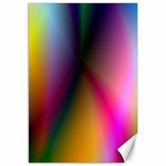 Prism Rainbow Canvas 12  X 18  (unframed) by StuffOrSomething
