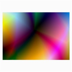 Prism Rainbow Glasses Cloth (large) by StuffOrSomething