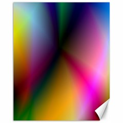 Prism Rainbow Canvas 11  X 14  (unframed) by StuffOrSomething