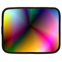 Prism Rainbow Netbook Sleeve (xxl) by StuffOrSomething