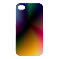 Prism Rainbow Apple Iphone 4/4s Hardshell Case by StuffOrSomething