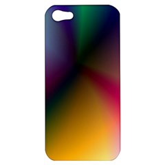 Prism Rainbow Apple Iphone 5 Hardshell Case by StuffOrSomething