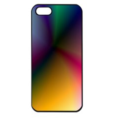Prism Rainbow Apple Iphone 5 Seamless Case (black) by StuffOrSomething