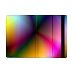 Prism Rainbow Apple Ipad Mini Flip Case by StuffOrSomething