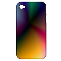 Prism Rainbow Apple Iphone 4/4s Hardshell Case (pc+silicone) by StuffOrSomething