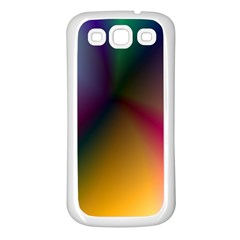 Prism Rainbow Samsung Galaxy S3 Back Case (white) by StuffOrSomething