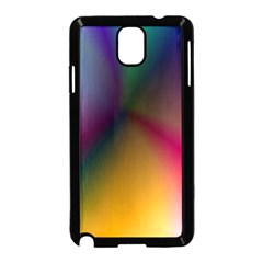 Prism Rainbow Samsung Galaxy Note 3 Neo Hardshell Case (black) by StuffOrSomething