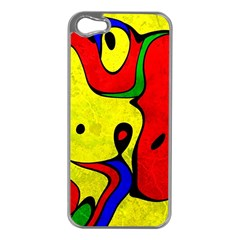 Abstract Apple Iphone 5 Case (silver) by Siebenhuehner