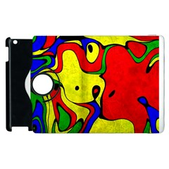 Abstract Apple Ipad 3/4 Flip 360 Case by Siebenhuehner