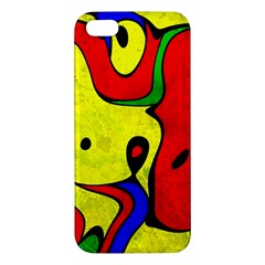 Abstract Apple Iphone 5 Premium Hardshell Case by Siebenhuehner