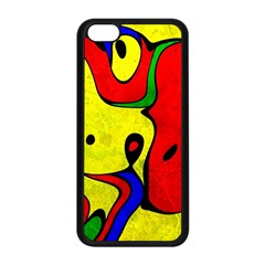 Abstract Apple Iphone 5c Seamless Case (black) by Siebenhuehner