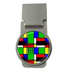 Mondrian Money Clip (round) by Siebenhuehner