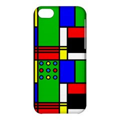 Mondrian Apple Iphone 5c Hardshell Case by Siebenhuehner