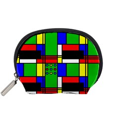 Mondrian Accessory Pouch (small) by Siebenhuehner