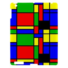 Mondrian Apple Ipad 3/4 Hardshell Case by Siebenhuehner