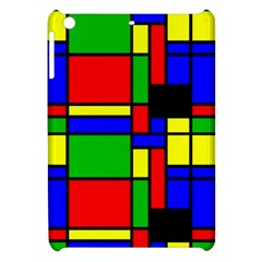 Mondrian Apple Ipad Mini Hardshell Case by Siebenhuehner