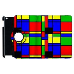 Mondrian Apple Ipad 3/4 Flip 360 Case by Siebenhuehner