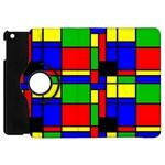 Mondrian Apple iPad Mini Flip 360 Case Front