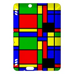 Mondrian Kindle Fire Hdx 7  Hardshell Case by Siebenhuehner