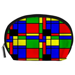 Mondrian Accessory Pouch (large) by Siebenhuehner