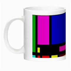 Mondrian Glow In The Dark Mug by Siebenhuehner