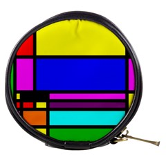 Mondrian Mini Makeup Case by Siebenhuehner