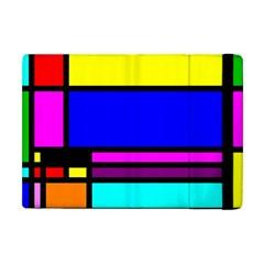 Mondrian Apple Ipad Mini Flip Case by Siebenhuehner