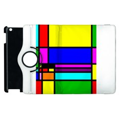 Mondrian Apple Ipad 2 Flip 360 Case by Siebenhuehner
