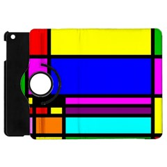 Mondrian Apple Ipad Mini Flip 360 Case by Siebenhuehner