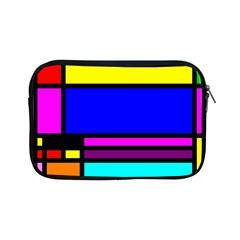 Mondrian Apple Ipad Mini Zippered Sleeve by Siebenhuehner