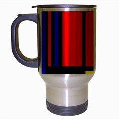 Mondrian Travel Mug (silver Gray) by Siebenhuehner