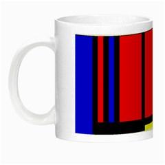 Mondrian Glow In The Dark Mug by Siebenhuehner