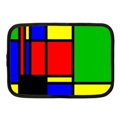Mondrian Netbook Sleeve (medium) by Siebenhuehner
