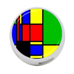 Mondrian 4 Port Usb Hub (two Sides) by Siebenhuehner