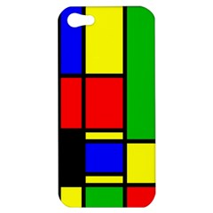 Mondrian Apple Iphone 5 Hardshell Case by Siebenhuehner