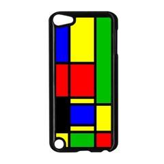 Mondrian Apple Ipod Touch 5 Case (black) by Siebenhuehner
