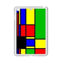 Mondrian Apple Ipad Mini 2 Case (white) by Siebenhuehner
