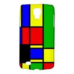 Mondrian Samsung Galaxy S4 Active (i9295) Hardshell Case by Siebenhuehner