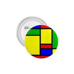 Mondrian 1 75  Button by Siebenhuehner