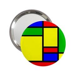 Mondrian Handbag Mirror (2 25 ) by Siebenhuehner