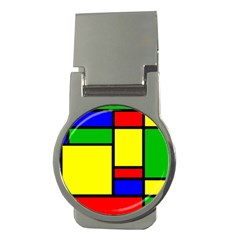 Mondrian Money Clip (round) by Siebenhuehner
