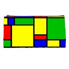 Mondrian Pencil Case by Siebenhuehner