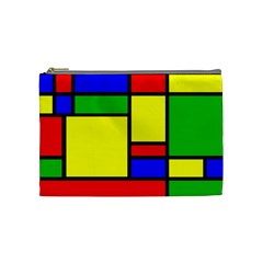 Mondrian Cosmetic Bag (medium) by Siebenhuehner