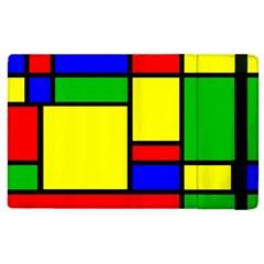 Mondrian Apple Ipad 3/4 Flip Case by Siebenhuehner