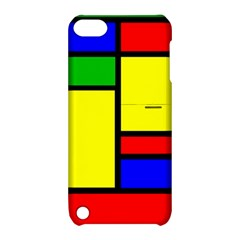 Mondrian Apple Ipod Touch 5 Hardshell Case With Stand by Siebenhuehner