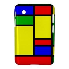 Mondrian Samsung Galaxy Tab 2 (7 ) P3100 Hardshell Case  by Siebenhuehner