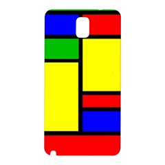 Mondrian Samsung Galaxy Note 3 N9005 Hardshell Back Case by Siebenhuehner
