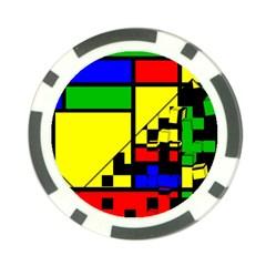 Moderne Poker Chip by Siebenhuehner